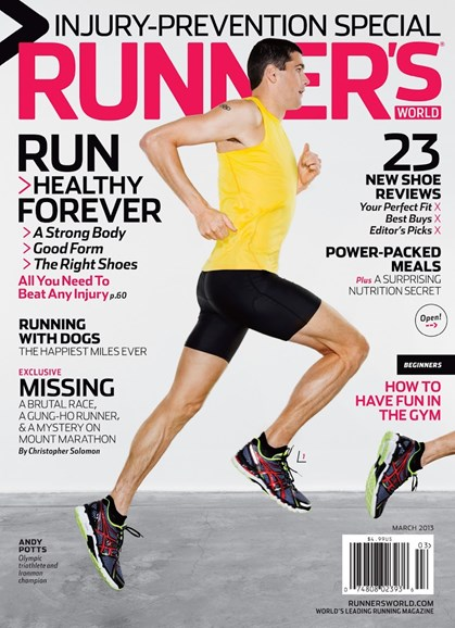 Runner's World Cover - 3/1/2013
