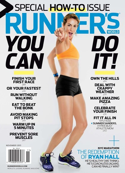 Runner's World Cover - 11/1/2013