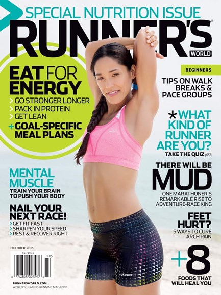 Runner's World Cover - 10/1/2013