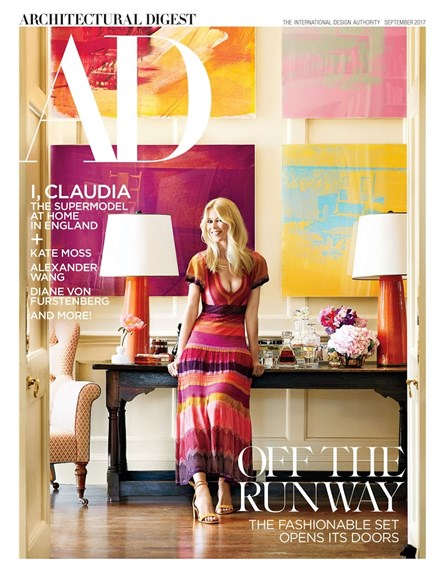 Architectural Digest Cover - 9/1/2017