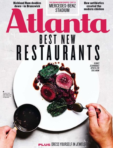 Atlanta Magazine Cover - 9/1/2017