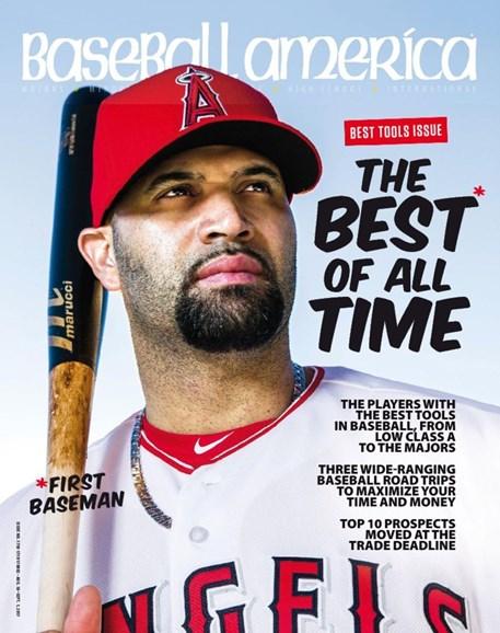 Baseball America Cover - 8/18/2017