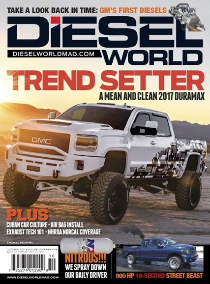 Diesel World Cover - 10/1/2017