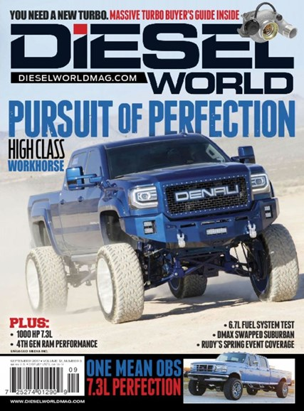 Diesel World Cover - 9/1/2017