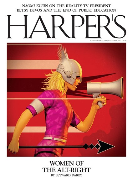 Harper's Cover - 9/1/2017