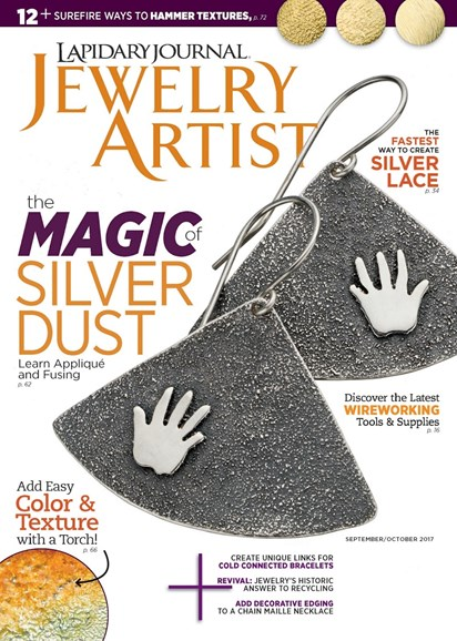 Lapidary Journal Jewelry Artist Cover - 9/1/2017