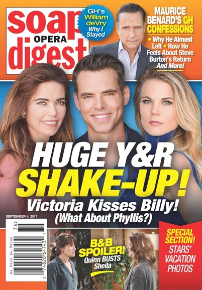 Soap Opera Digest Cover - 9/4/2017