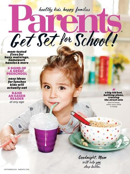 Parents Cover - 9/1/2014