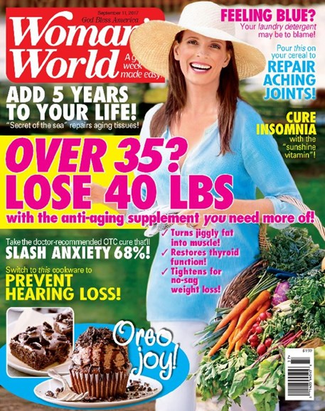 Woman's World Cover - 9/11/2017