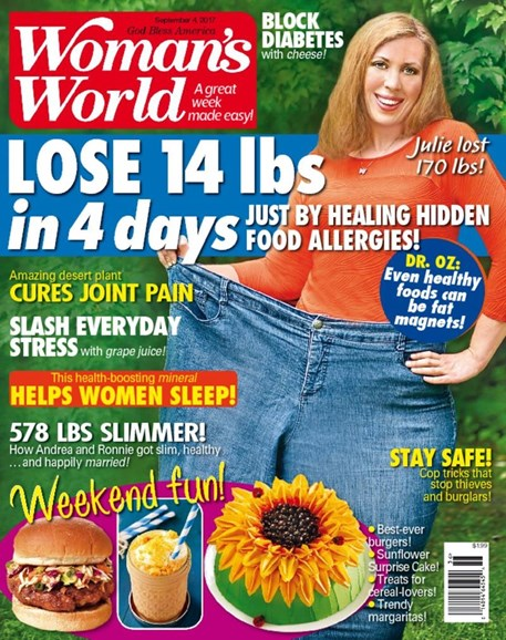 Woman's World Cover - 9/4/2017