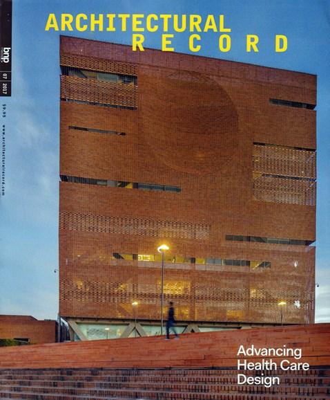 Architectural Record Cover - 7/1/2017
