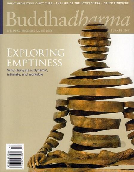 BUDDHADHARMA: THE PRACTIONER'S QUARTERLY Cover - 6/1/2017