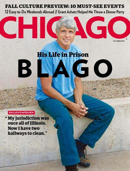 Chicago Magazine Cover - 10/1/2017