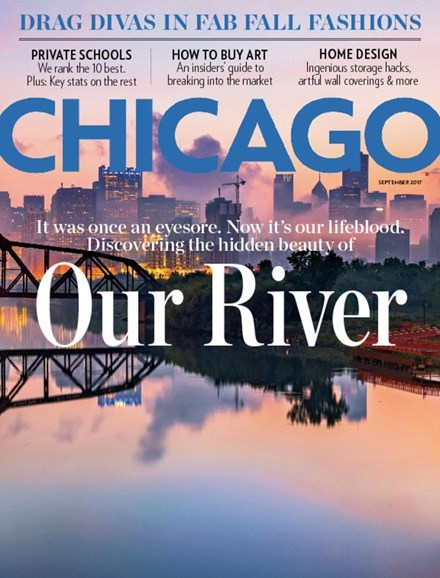 Chicago Magazine Cover - 9/1/2017