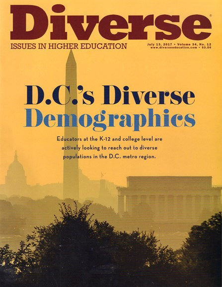 Diverse: Issues In Higher Education Cover - 7/13/2017