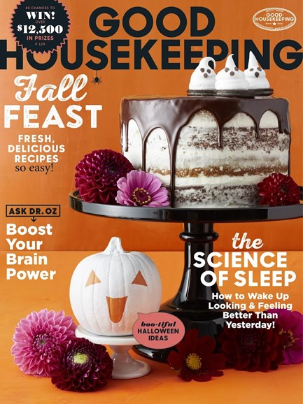 Good Housekeeping Cover - 10/1/2017