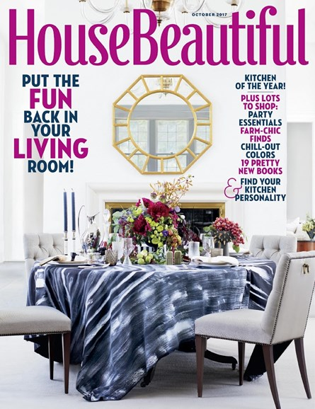 House Beautiful Cover - 10/1/2017