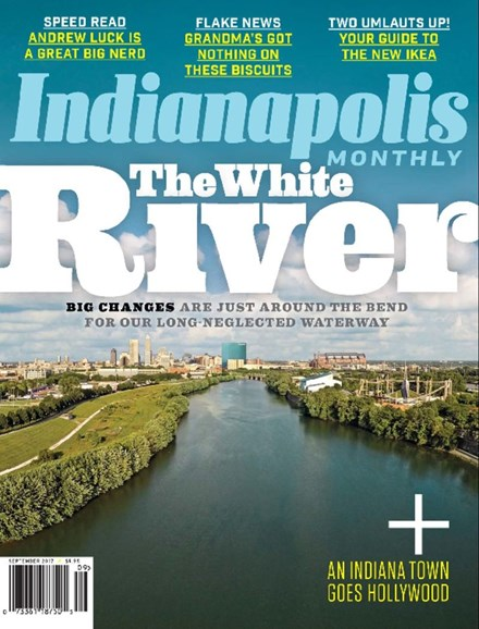 Indianapolis Monthly Cover - 9/1/2017