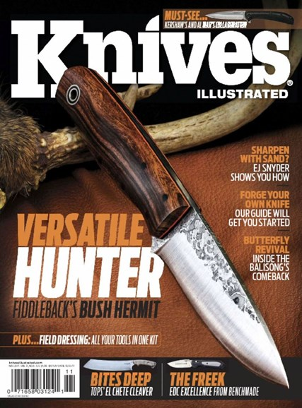 Knives Illustrated Cover - 11/1/2017