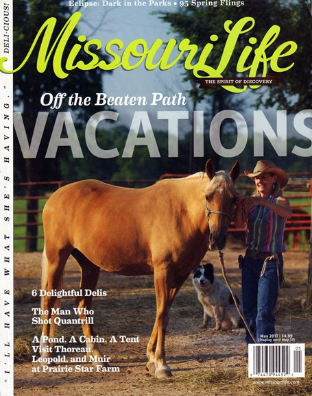 Missouri Life Cover - 5/1/2017