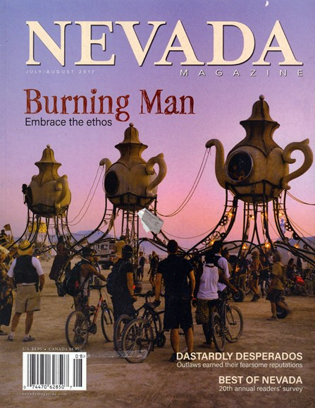 Nevada Magazine Cover - 7/1/2017