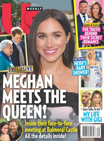 Us Weekly Cover - 9/25/2017