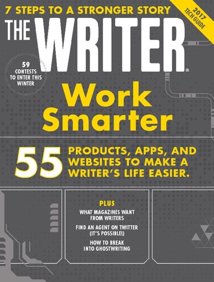 The Writer Cover - 11/1/2017