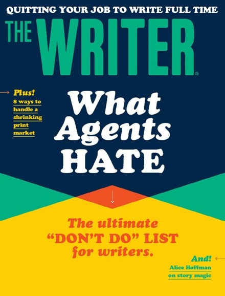 The Writer Cover - 10/1/2017