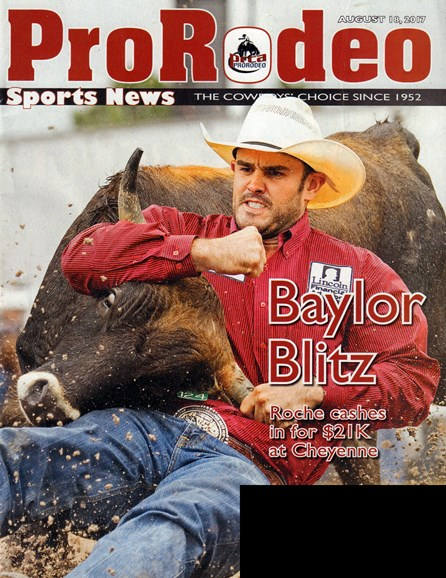 Pro Rodeo Sports News Cover - 8/18/2017