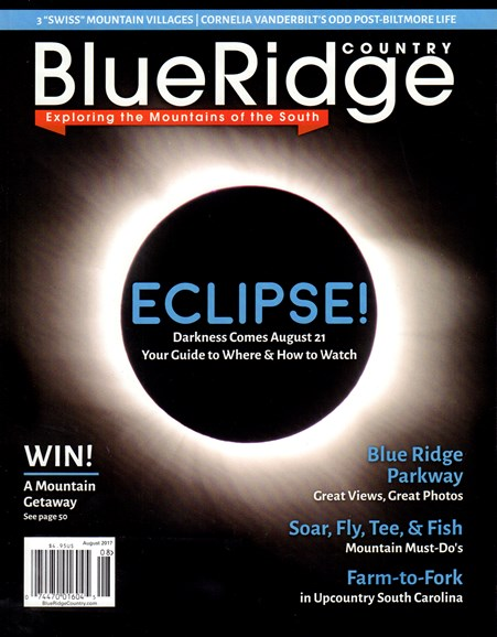 Blue Ridge Country Cover - 8/1/2017