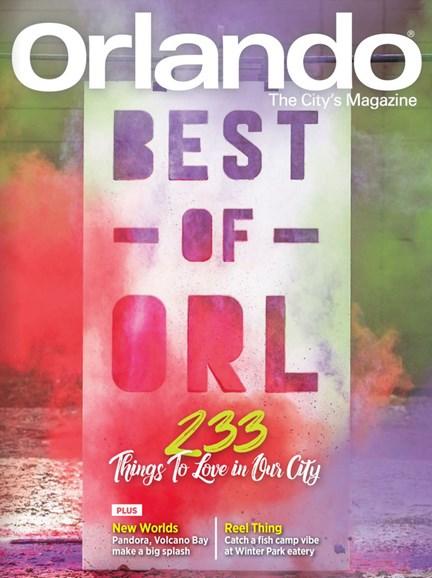 Orlando Magazine Cover - 8/1/2017