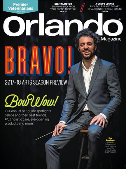Orlando Magazine Cover - 9/1/2017