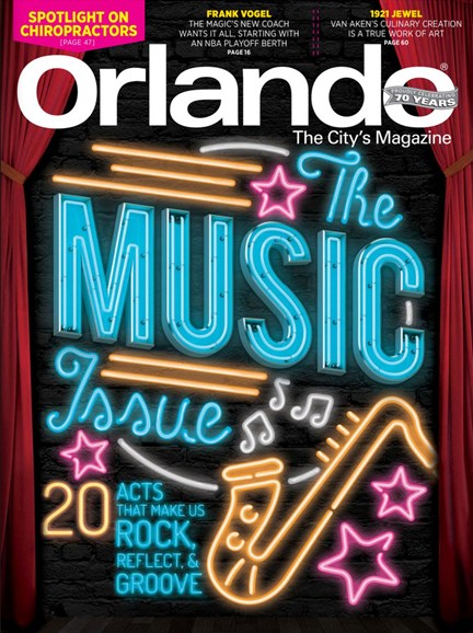 Orlando Magazine Cover - 11/1/2016