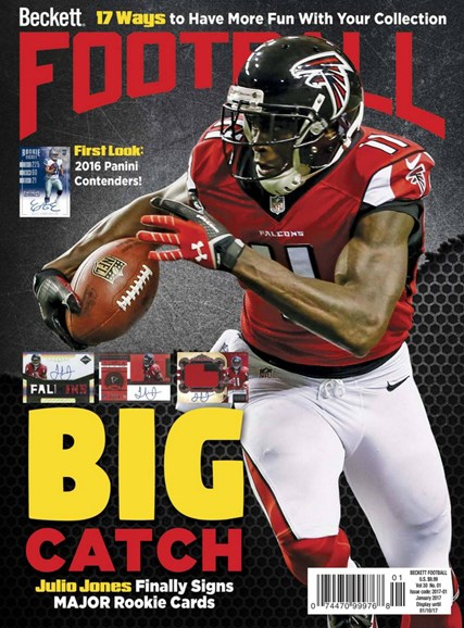 Beckett Football Cover - 1/1/2017