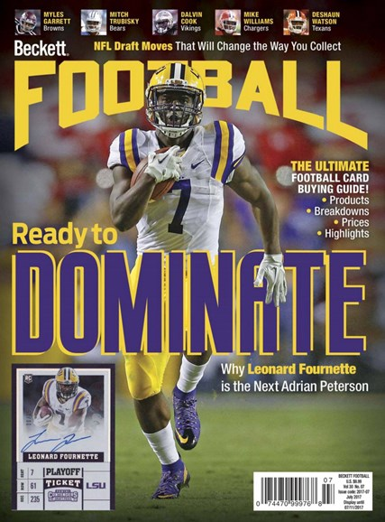 Beckett Football Cover - 7/1/2017