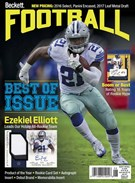 Beckett Football  Magazine 6/1/2017