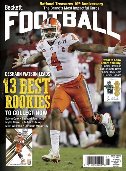 Beckett Football Cover - 5/1/2017
