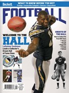 Beckett Football  Magazine 9/1/2017