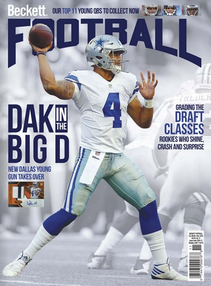 Beckett Football  Cover - 11/1/2016