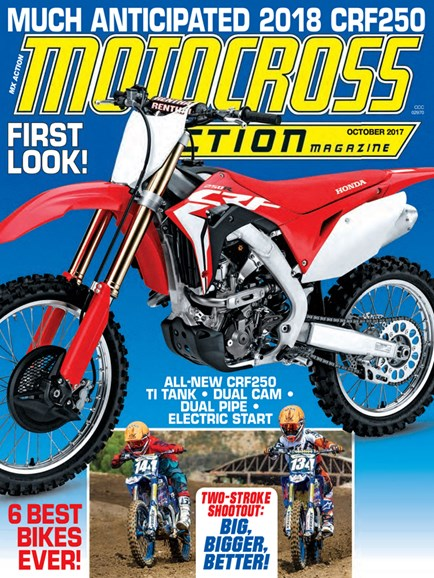 Motocross Action Cover - 10/1/2017