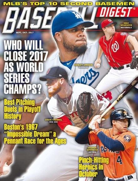 Baseball Digest Cover - 9/1/2017