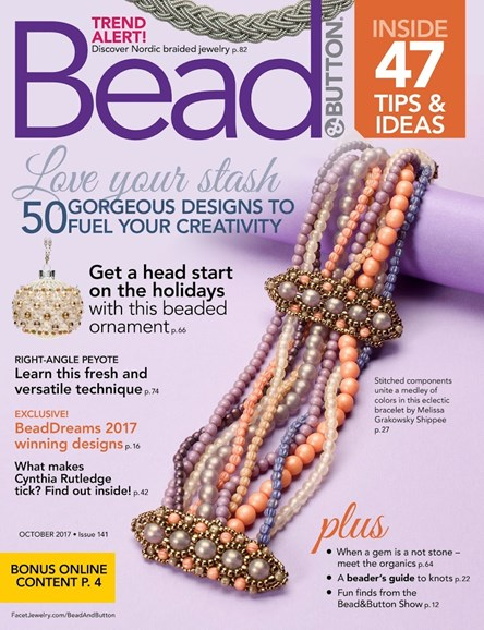 Bead & Button Cover - 10/1/2017