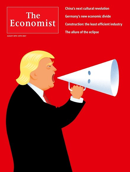 The Economist Cover - 8/19/2017