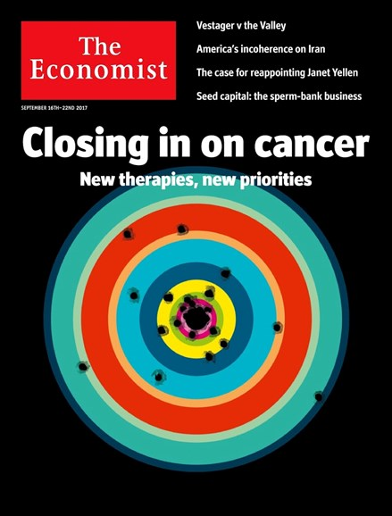 The Economist Cover - 9/16/2017