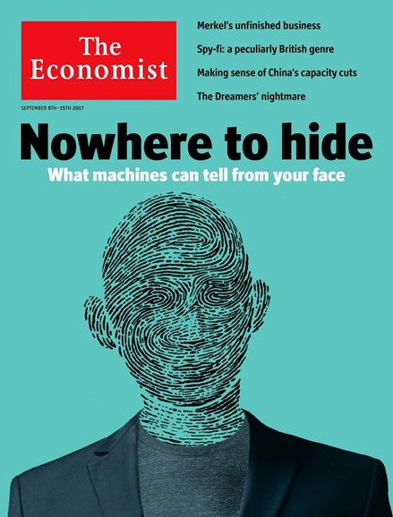 The Economist Cover - 9/9/2017
