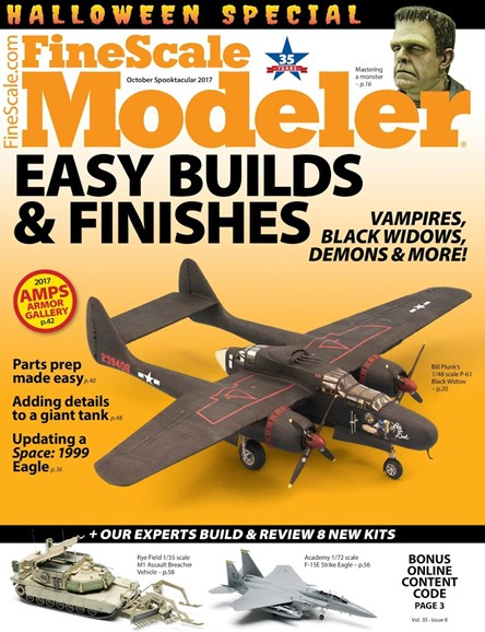 Finescale Modeler Cover - 10/1/2017