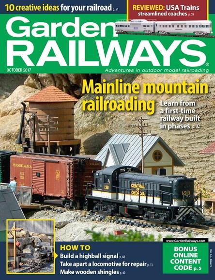 Garden Railways Cover - 10/1/2017