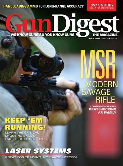 Gun Digest Cover - 8/30/2017