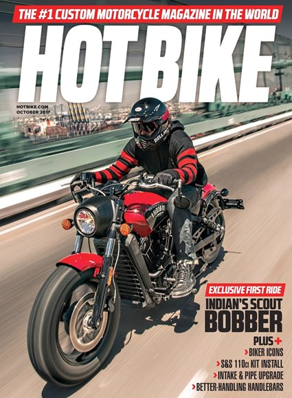 Hot Bike Cover - 10/1/2017