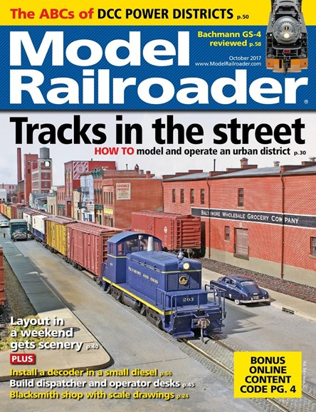 Model Railroader Cover - 10/1/2017